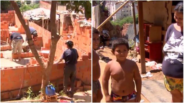 Estudantes de engenharia se unem e constroem casa para família carente de Sorocaba