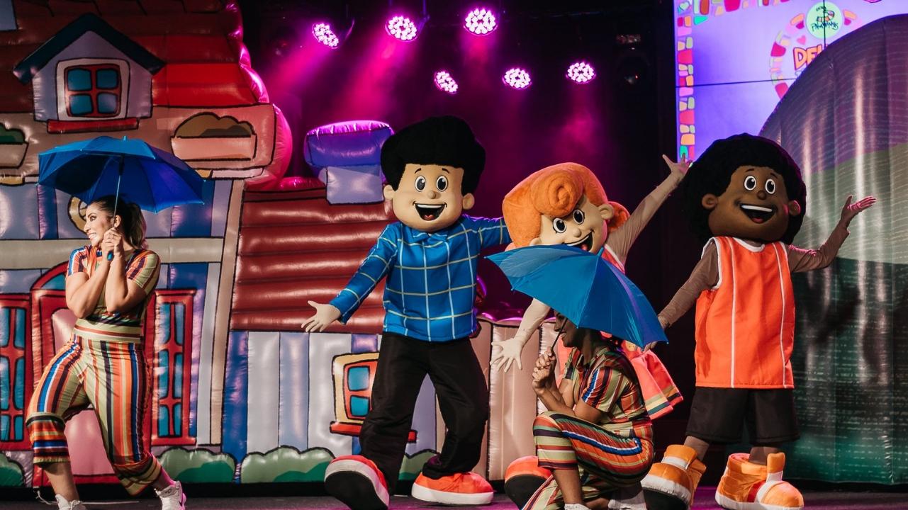 """EM SOROCABA: Show infantil do """"3 Palavrinhas"""" pela primeira vez na cidade"""