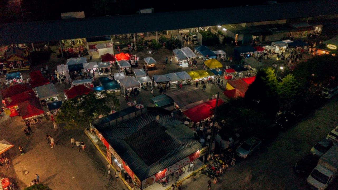 Feira gastronômica noturna do Ceagesp faz grande sucesso em Sorocaba