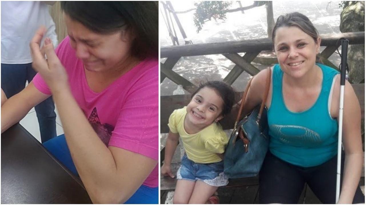 Mãe grávida escolheu ficar cega para não perder o bebê no interior de SP