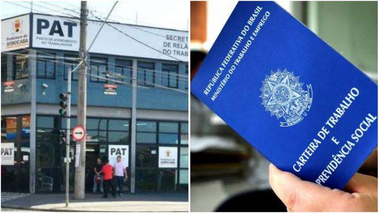 Confira as vagas de emprego disponíveis nesta segunda- feira (13), no PAT Sorocaba
