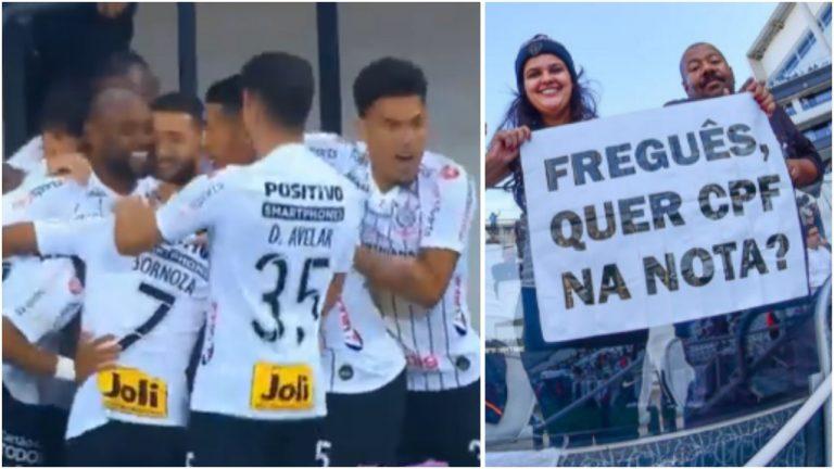 E de novo, Corinthians vence o São Paulo na Arena Itaquera e já é 3° no Brasileirão