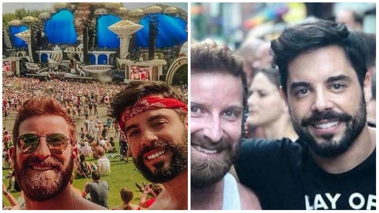 O verdadeiro amor de Abel: Pedro Carvalho é casado com advogado bonitão há dois anos