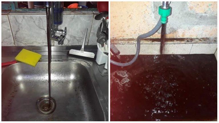 Moradores de Votorantim reclamam da qualidade da água que sai da torneira: 'Um nojo'