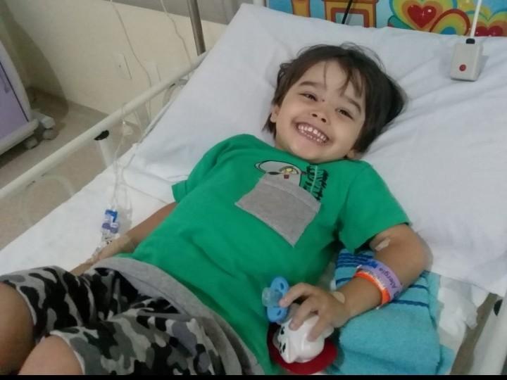 URGENTE: Menino de 3 anos no GPACI em Sorocaba e precisa de doação de sangue