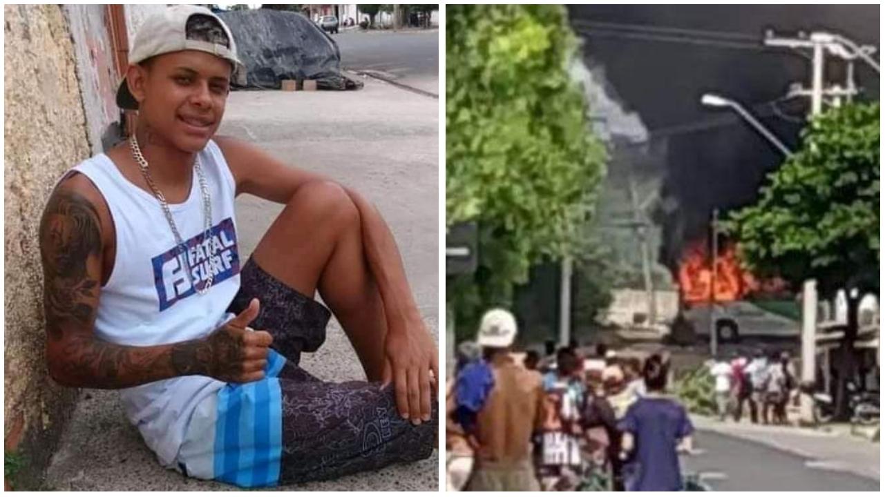 URGENTE: Moradores do Pq. Vitória Régia em Sorocaba protestam após morte de jovem