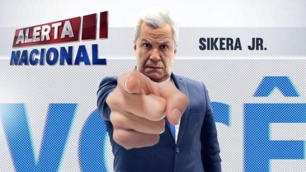 Alerta Nacional com Sikera Júnior estréia hoje (28) na Rede TV! para todo o Brasil