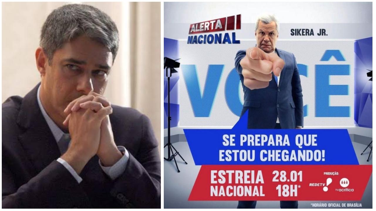 Para pesadelo da Globo, Sikêra Júnior estréia hoje (28) para todo Brasil na RedeTV!