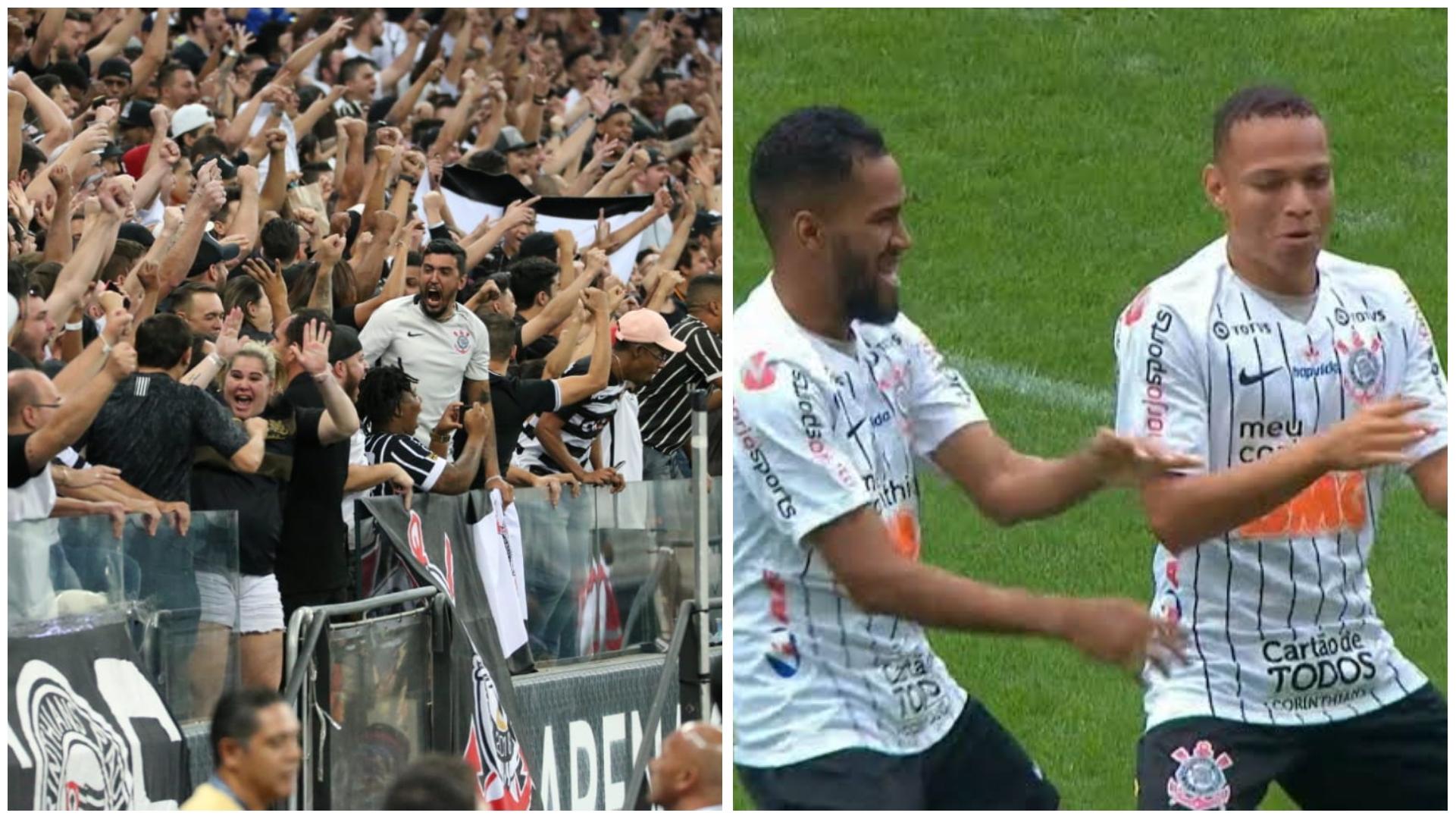 Corinthians joga bem, e com um a menos vence o Santos na Arena; veja os gols