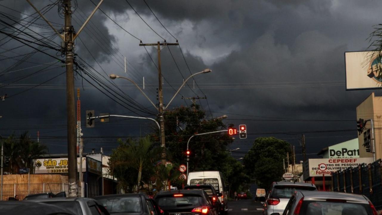 Defesa Civil emite alerta para chuva forte para os próximos dias em Sorocaba