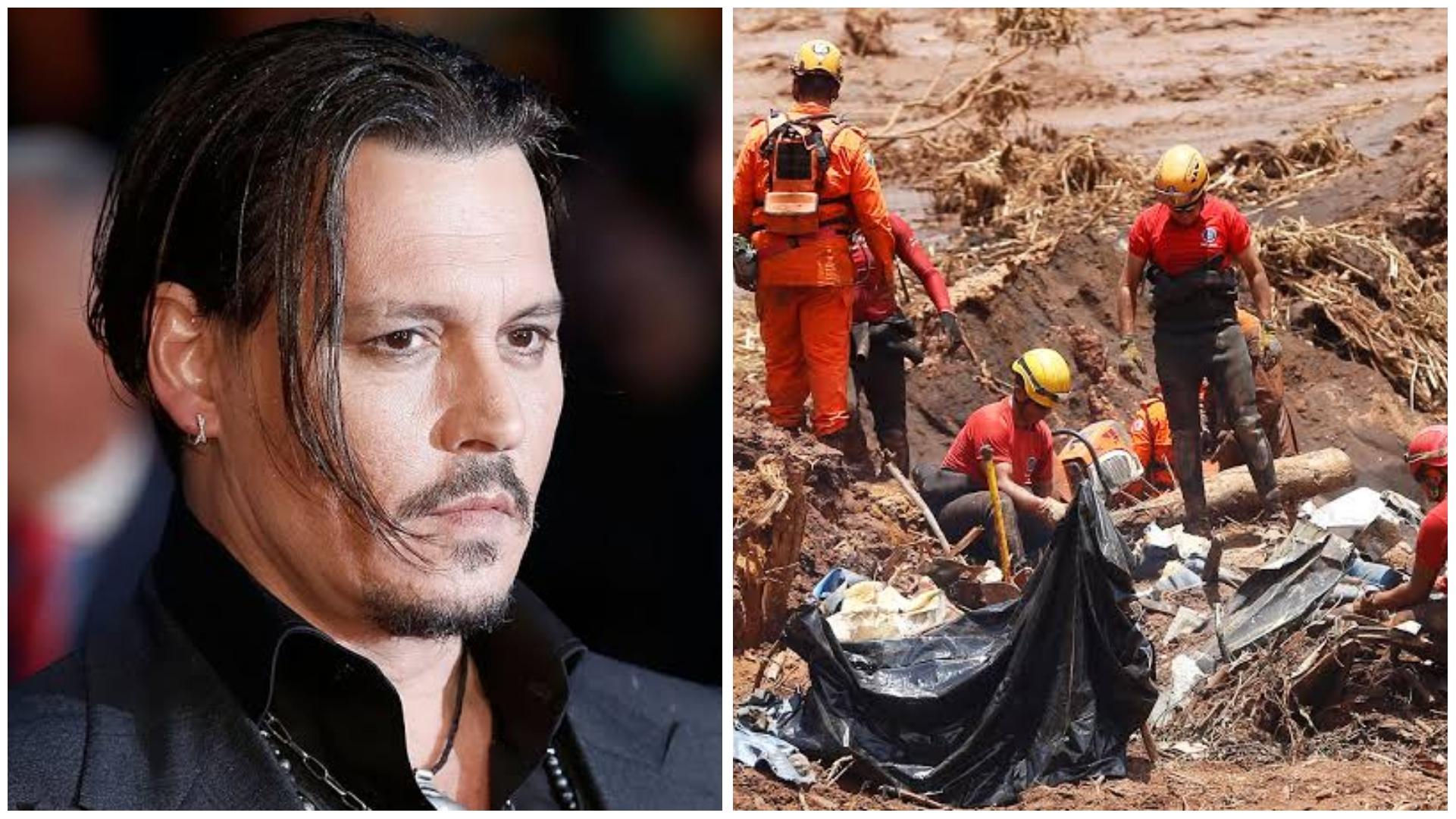 Johnny Depp estrela filme relacionado a tragédia de Brumadinho