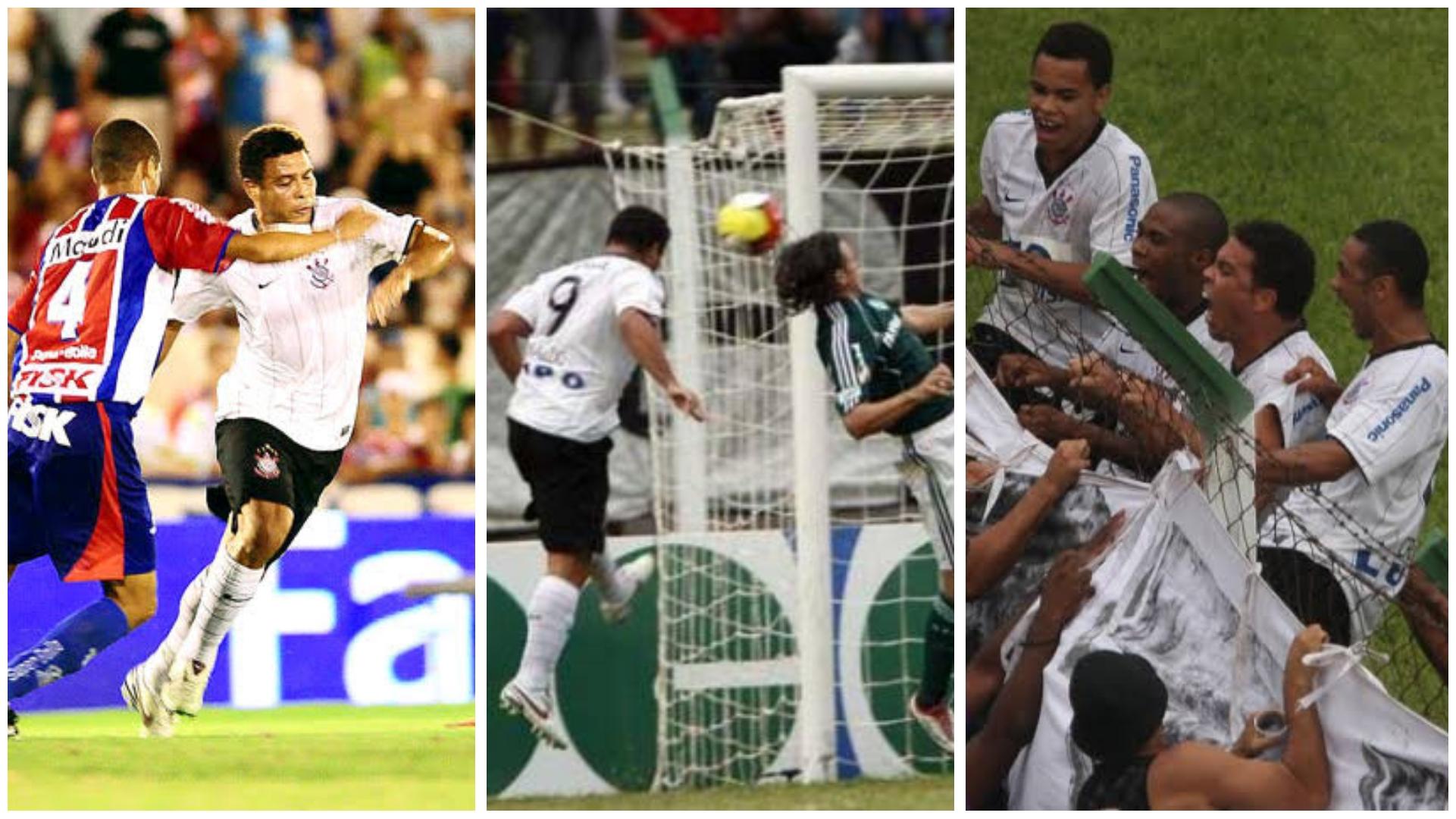 Há 11 anos Ronaldo fazia sua estréia com a camisa do Corinthians; relembre