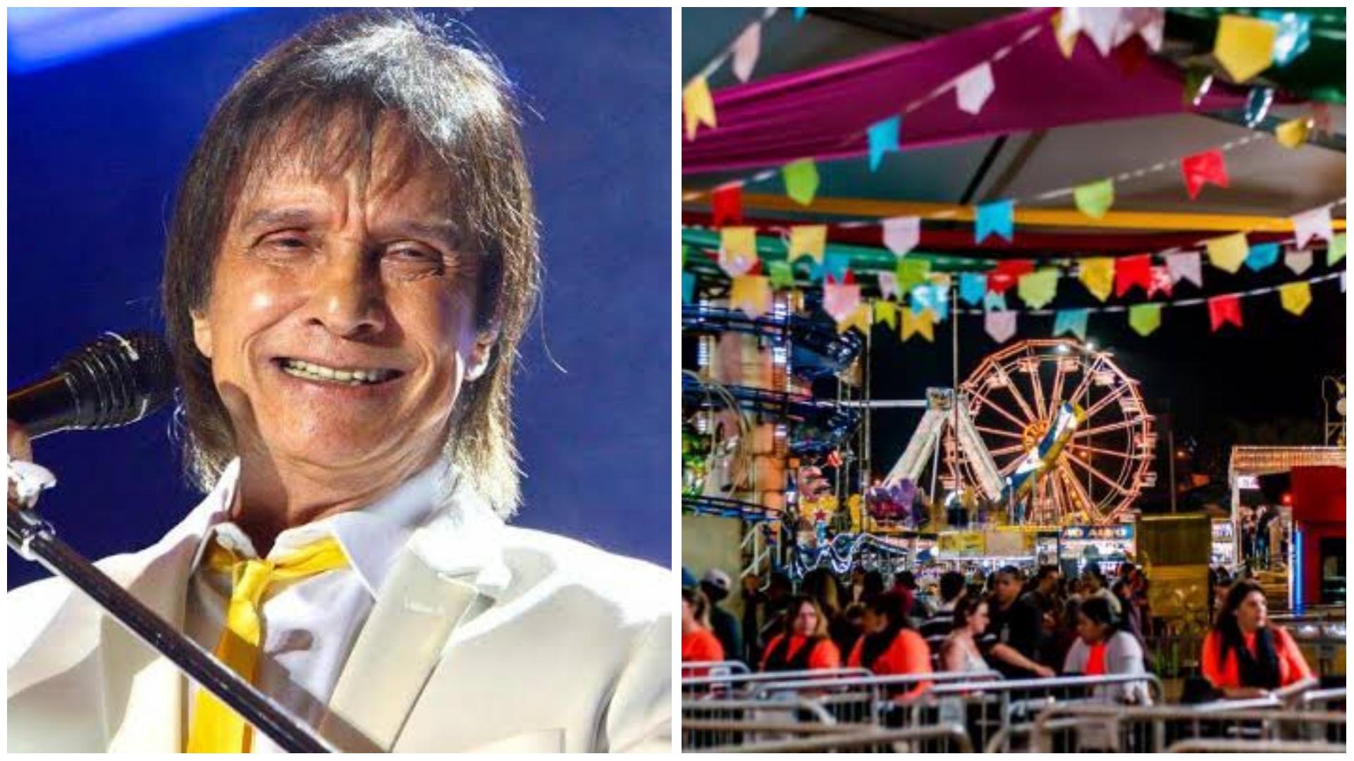 Roberto Carlos se apresentará pela 1ª vez na Festa Junina de Votorantim