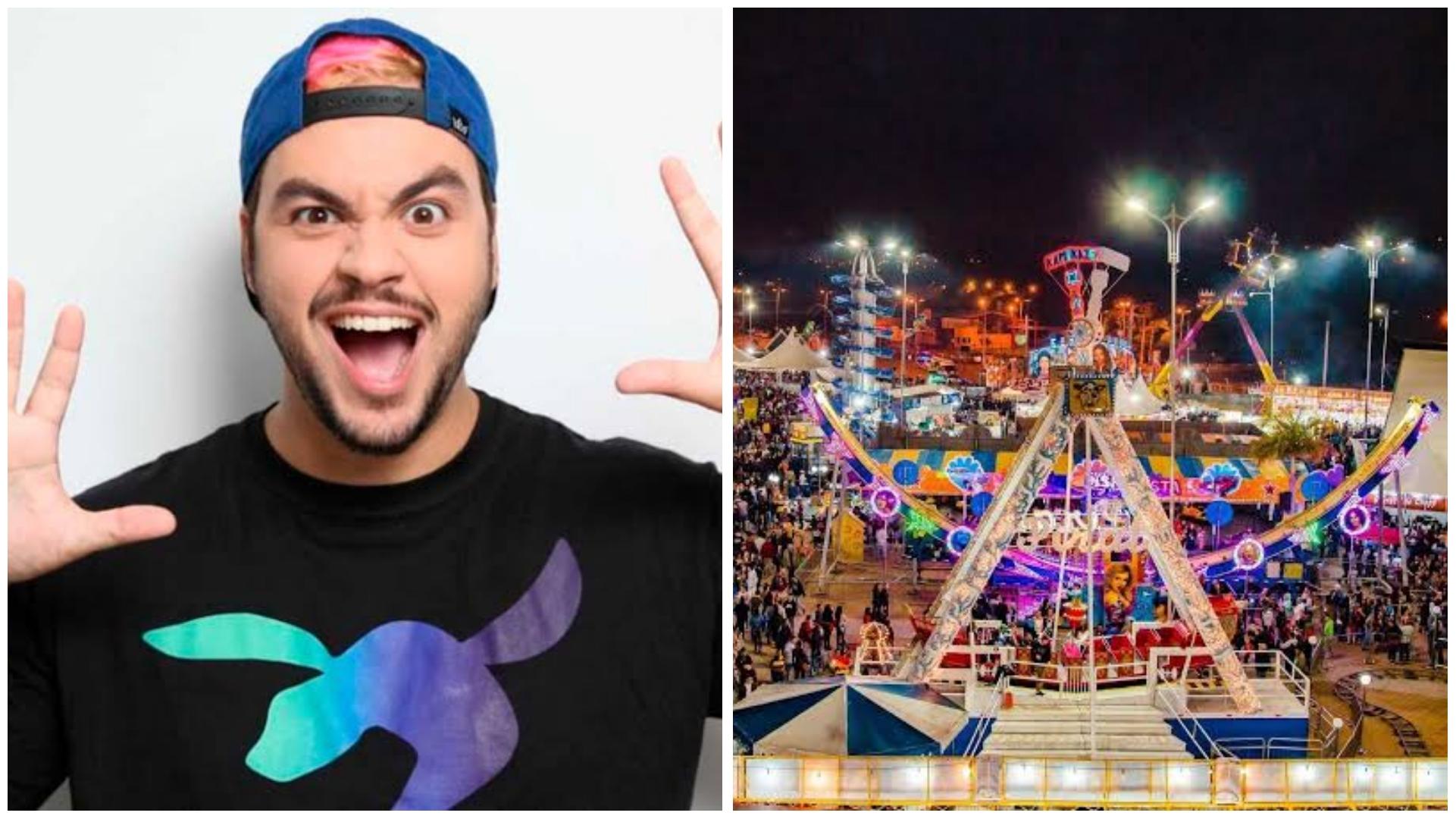 Youtuber Luccas Neto será uma das atrações infantis na Festa Junina de Votorantim