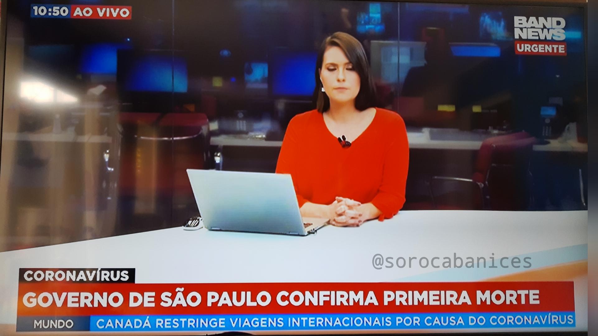 URGENTE: Governo de SP anuncia 1ª morte por Coronavírus no Brasil
