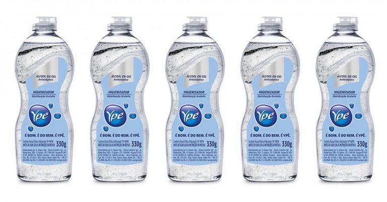 Ypê vai produzir e envasar álcool em gel e distribuir de graça no Brasil