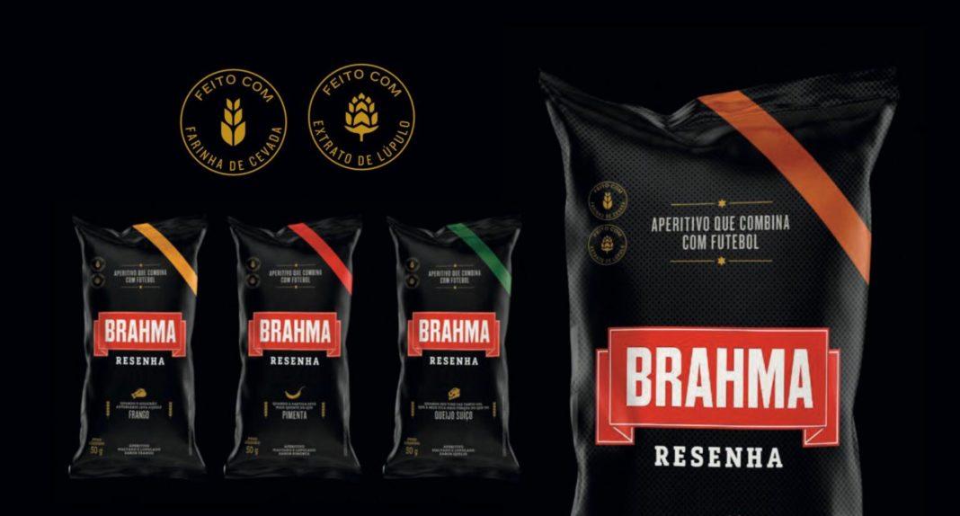 AmBev lança 'salgadinhos' da Brahma maltados e lupuladados
