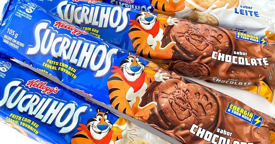 Sucrilhos Kellogg's acaba de virar biscoito nos sabores de Leite e Chocolate