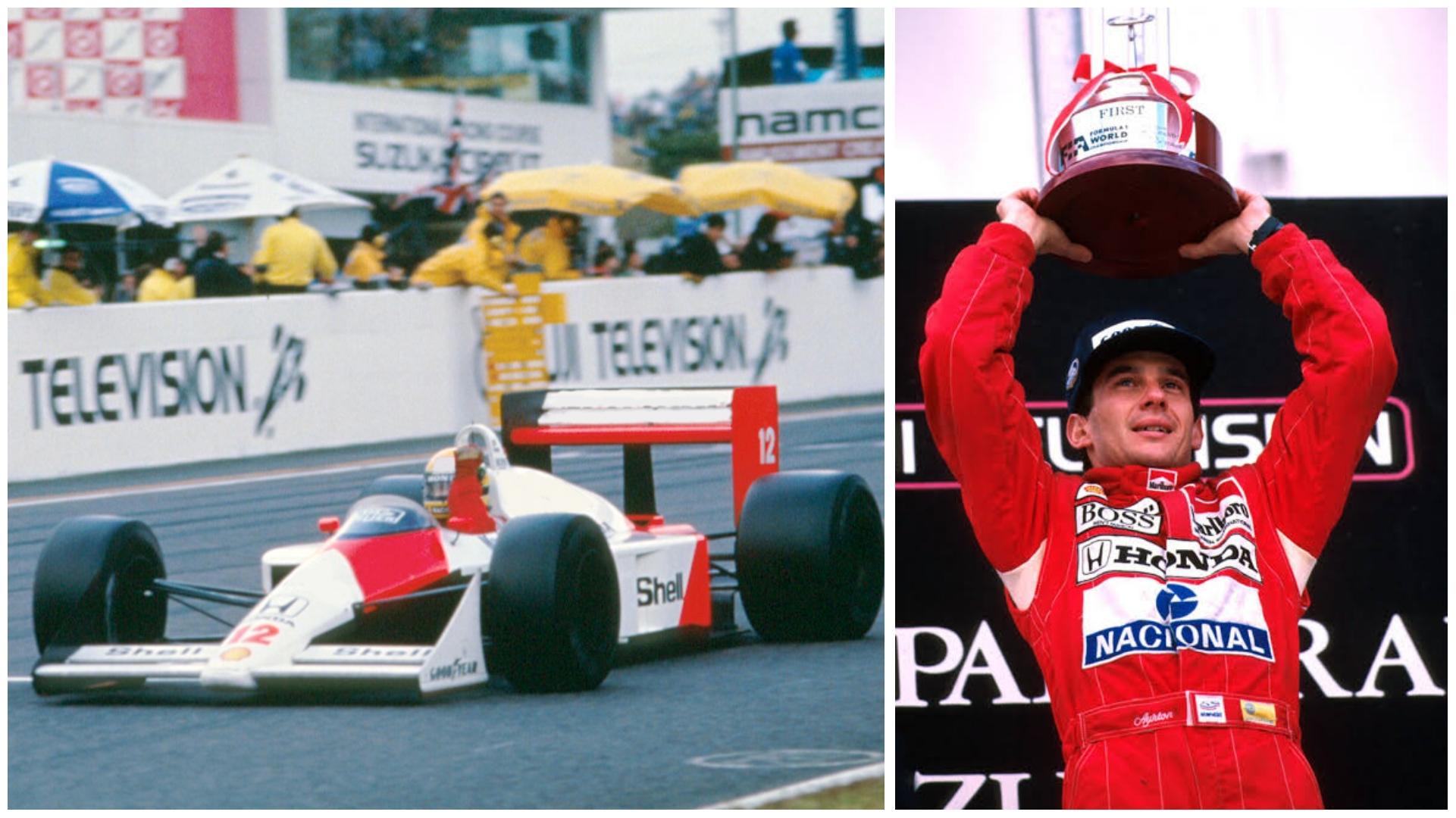 Globo exibe neste domingo (03), a corrida do primeiro mundial de Ayrton Senna