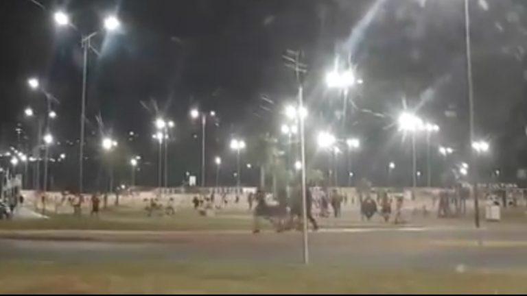 Vídeo mostra população de Votorantim curtindo o feriado na Praça de Eventos