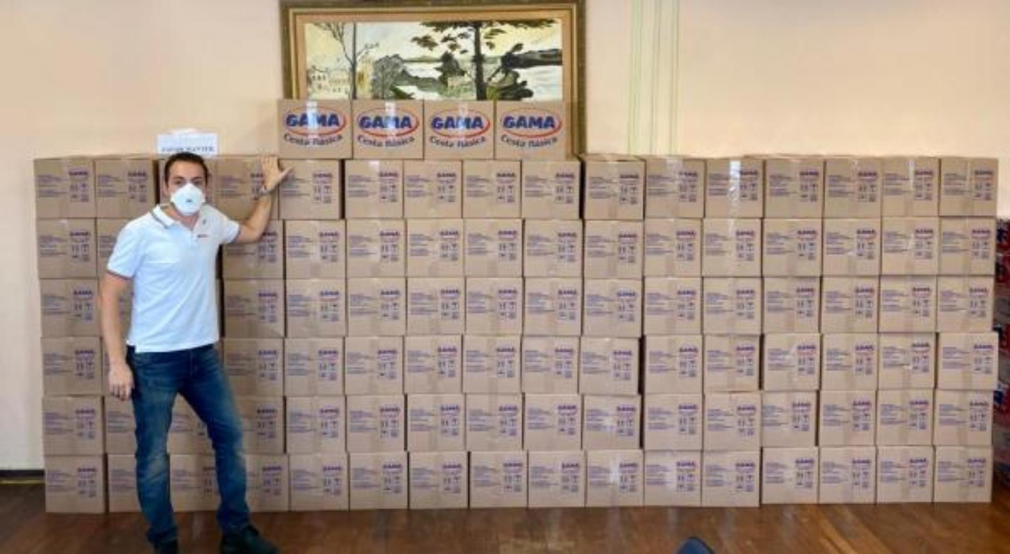 Festa Junina de Votorantim doa uma tonelada de alimentos para o município
