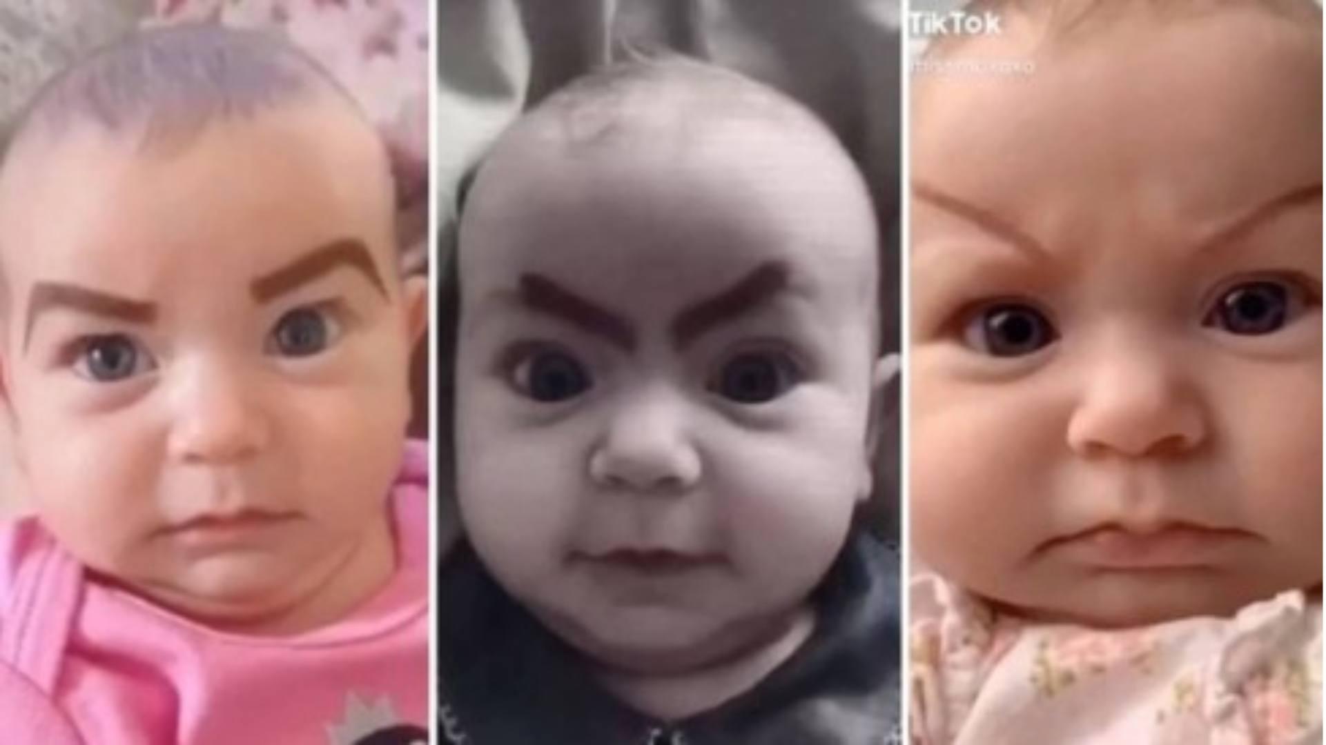 Mulher é criticada por pintar sobrancelhas na filha para superar tédio da quarentena