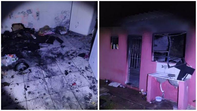 Mulher é presa após incendiar casas com cigarro de maconha em Votorantim