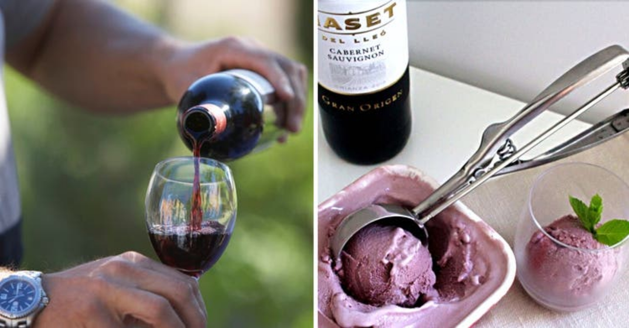 Sorvete de vinho tinto: uma receita que todos os 'amantes de vinho' deveriam fazer