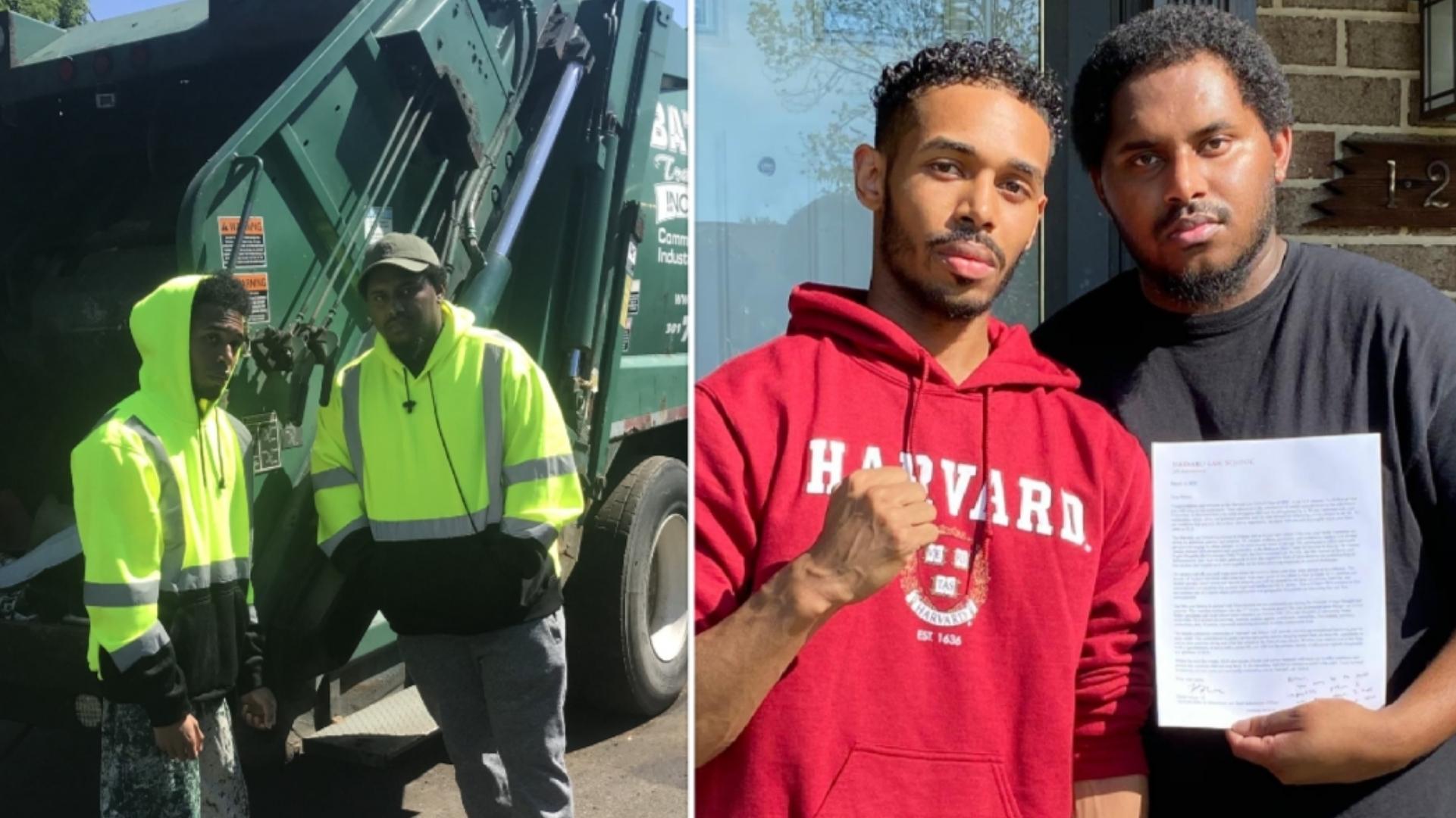 Após muita luta, jovem que trabalhou como coletor de lixo é aprovado em Harvard