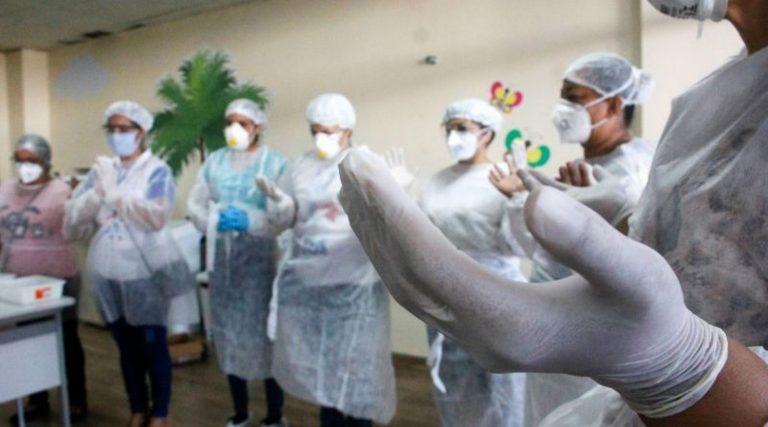 Peço para que Deus mande a cura para as 731 pessoas com covid-19 em Sorocaba