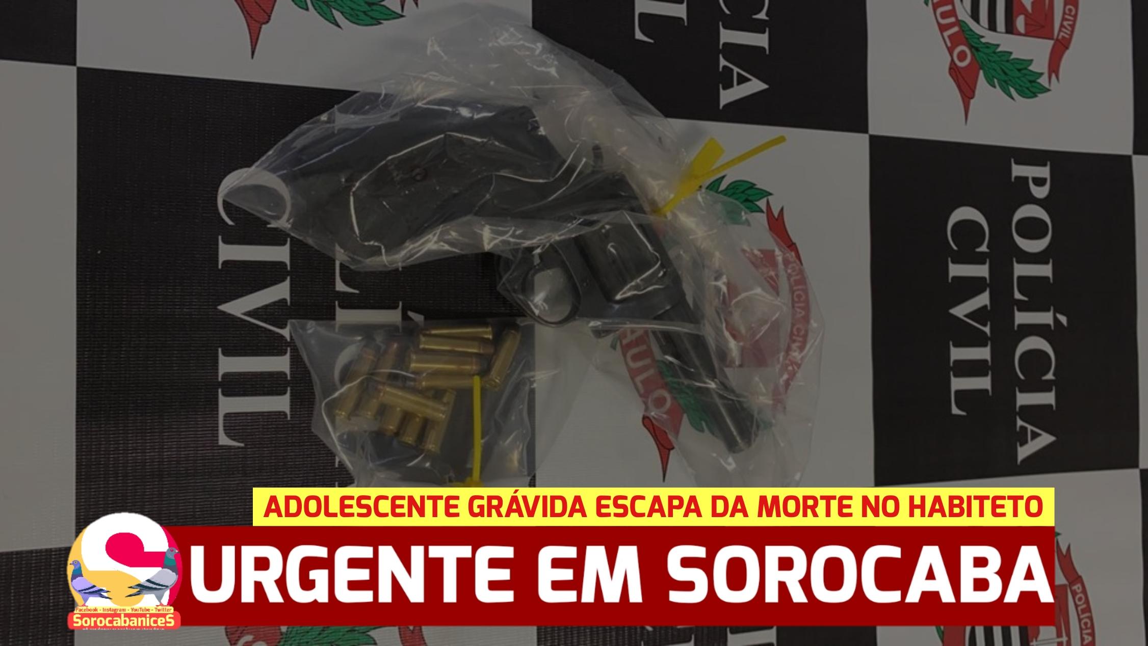 Arma falha e adolescente grávida escapa da morte no Habiteto em Sorocaba