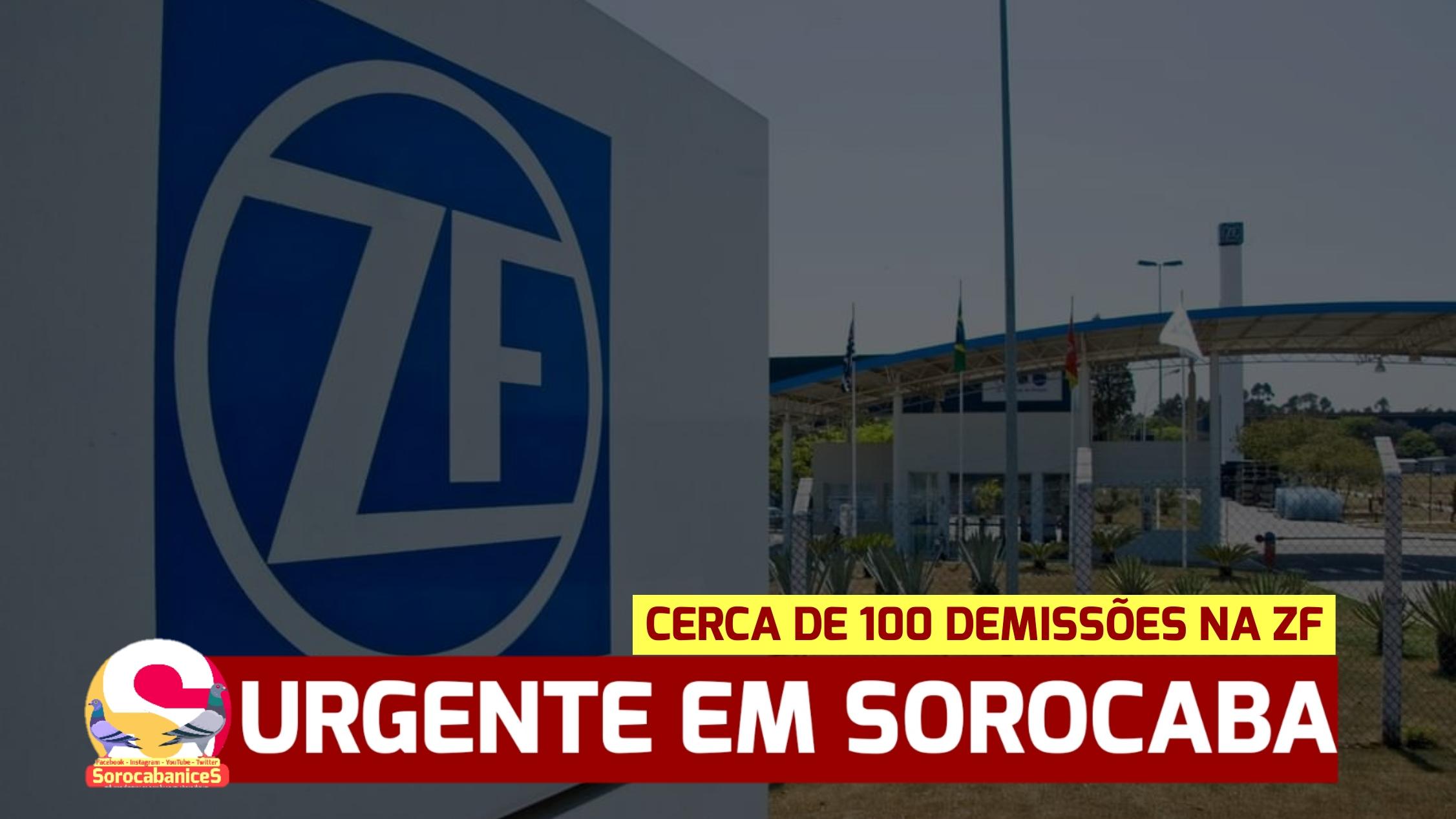 ZF do Brasil demite cerca de 100 funcionários em Sorocaba nesta quarta (05)