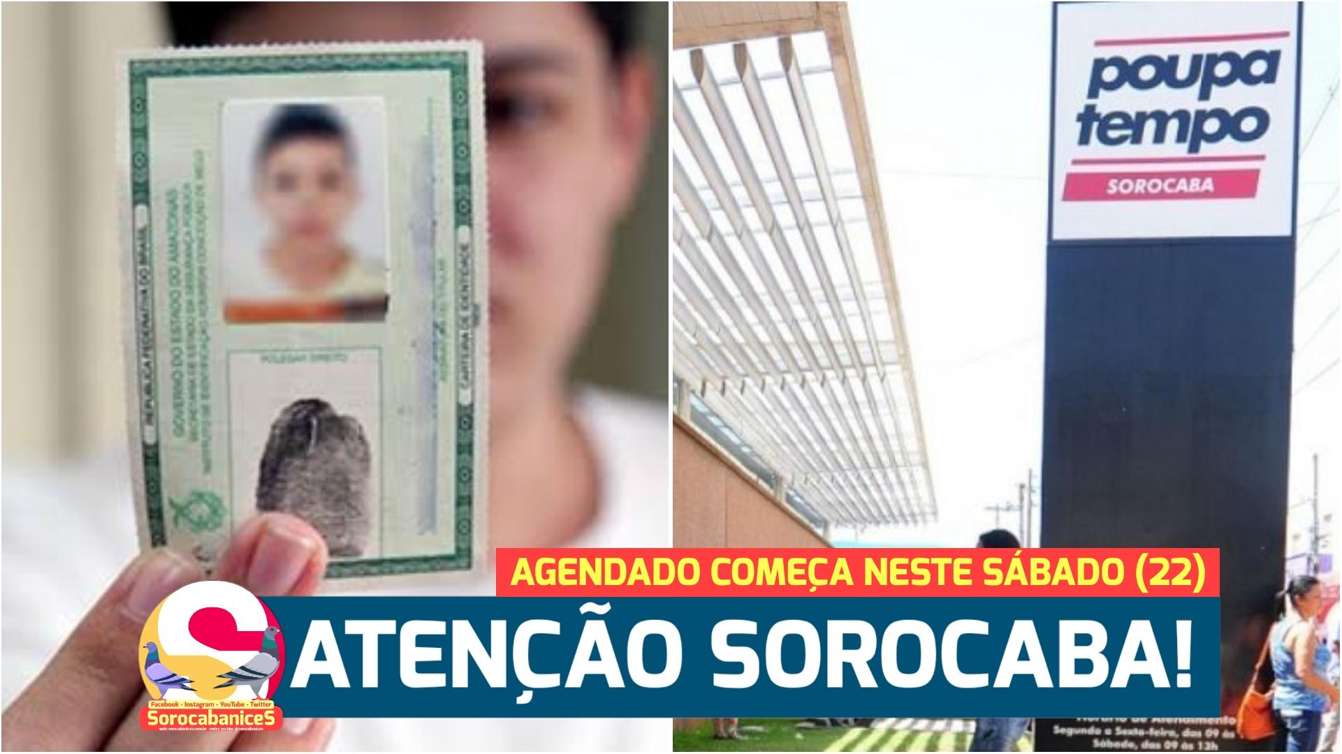 Poupatempo fará mutirão para emissão de RG em Sorocaba