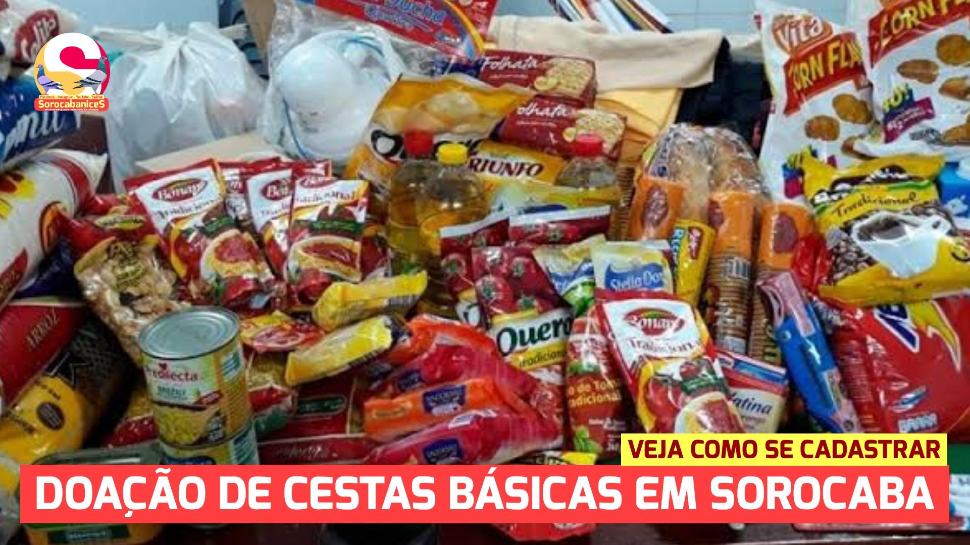 Banco de Alimentos doará cestas básicas à família carentes de Sorocaba; se cadastre!