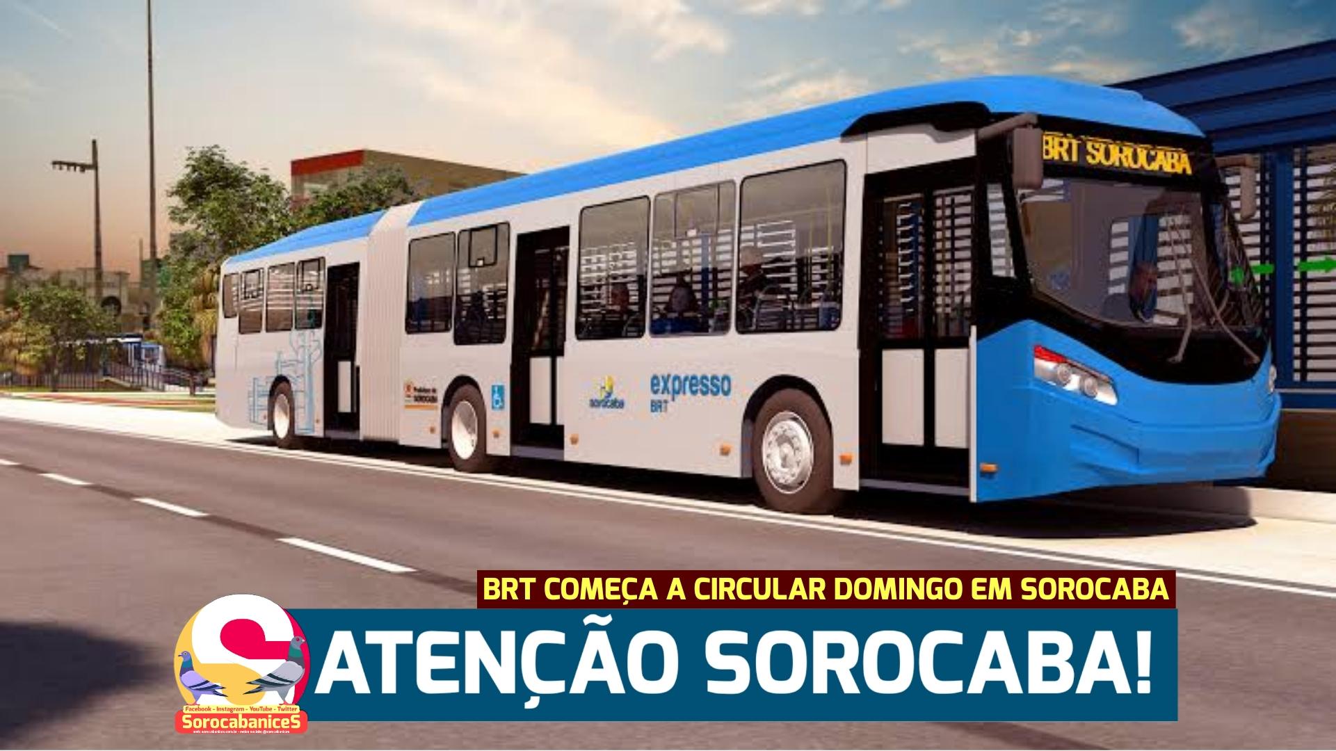 BRT Sorocaba começa a circular neste domingo (30); confira as linhas e valor