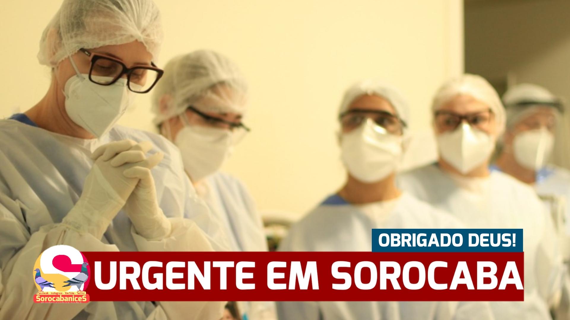 """Sorocaba passa dos 14 mil CURADOS da covid-19; """"OBRIGADO DEUS!"""""""
