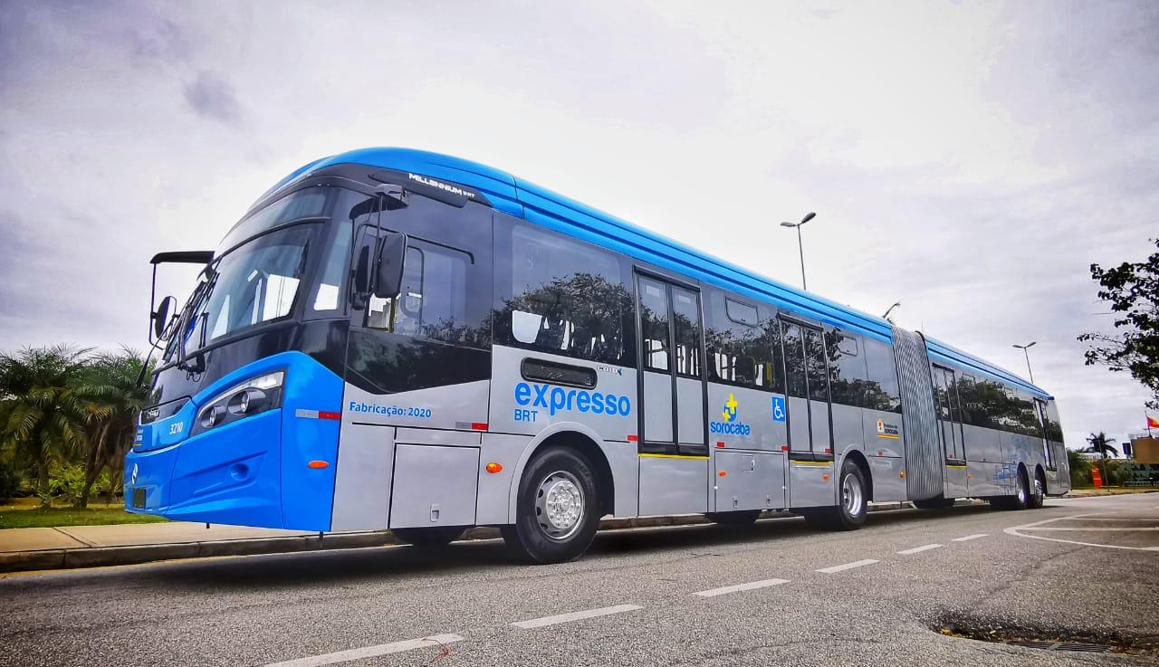 BRT Sorocaba começa a circular neste domingo (30), e empregará mais de 500 pessoas