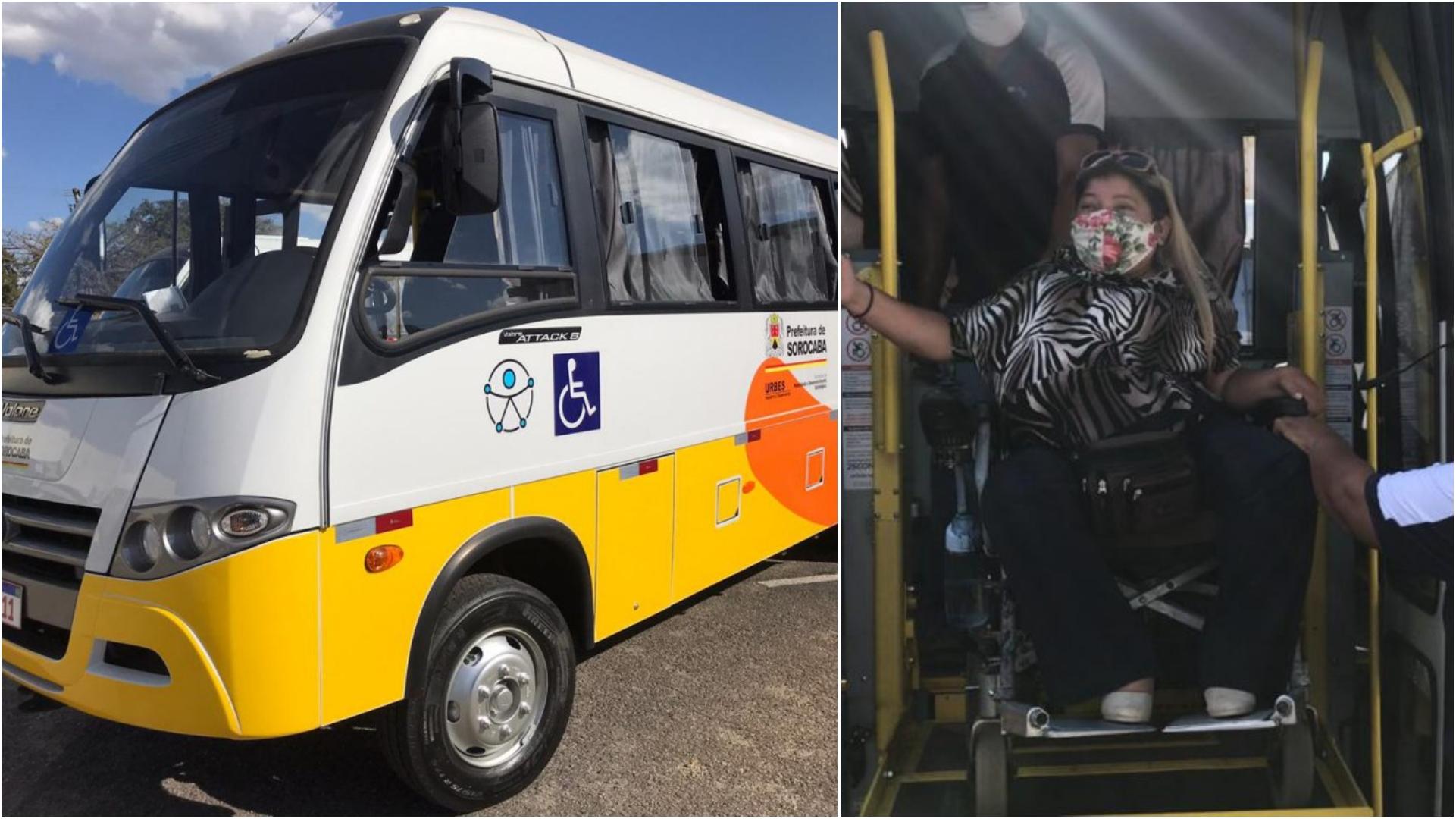 Sorocaba tem novo serviço de transporte especial que atende na porta da casa