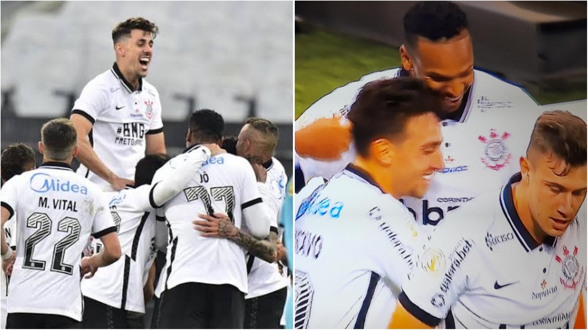 UFA!!! Corinthians faz 3 no Coritiba e vence a primeira no Brasileirão