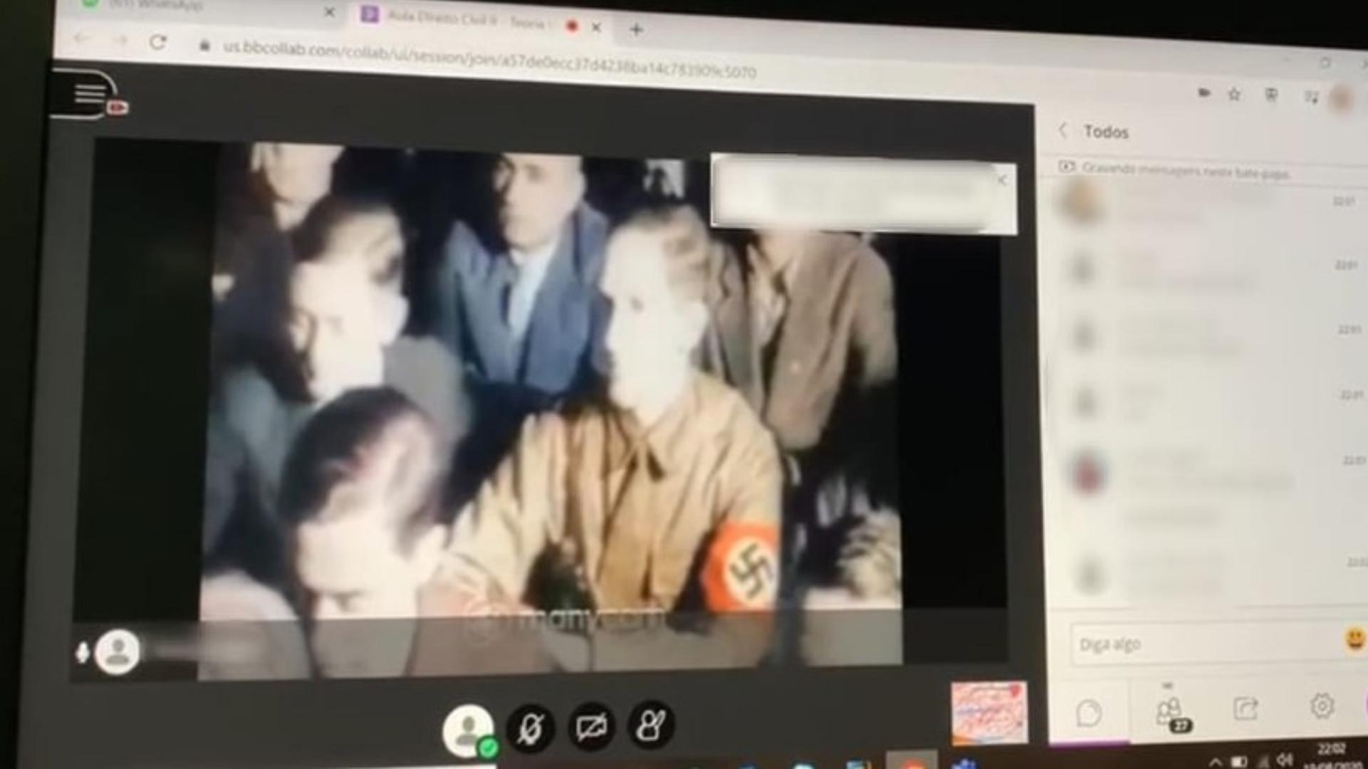 Grupo invade aula online e faz apologia ao nazismo e ao racismo em Sorocaba