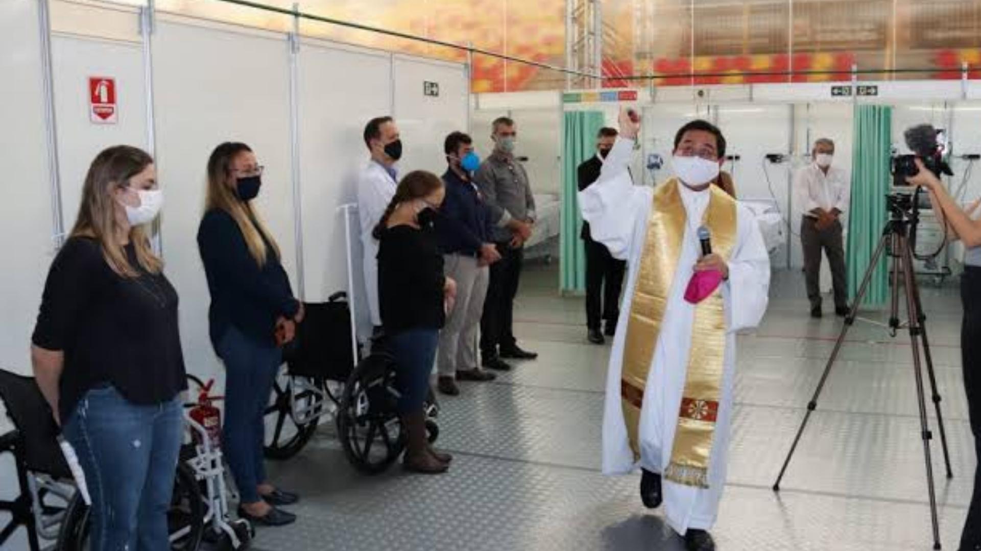 Taxa de ocupação cai e 20% dos leitos do hospital de campanha em Sorocaba são desativados