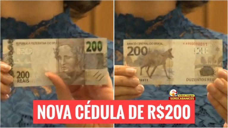 Conheça a nova nota de R$200, lançada hoje pelo Banco Central