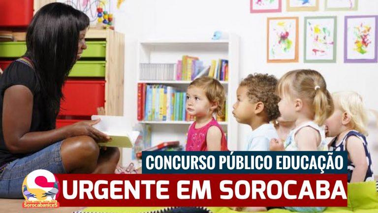 Sorocaba anuncia novas datas para o Concurso Público de Educação