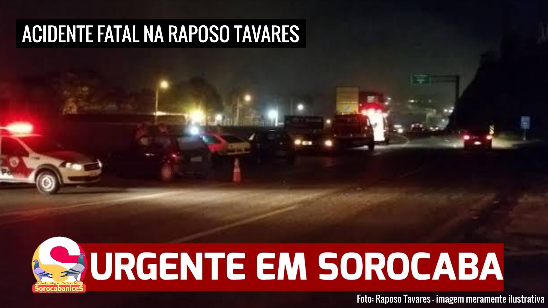 Jovem morre em acidente fatal na rodovia Raposo Tavares em Sorocaba
