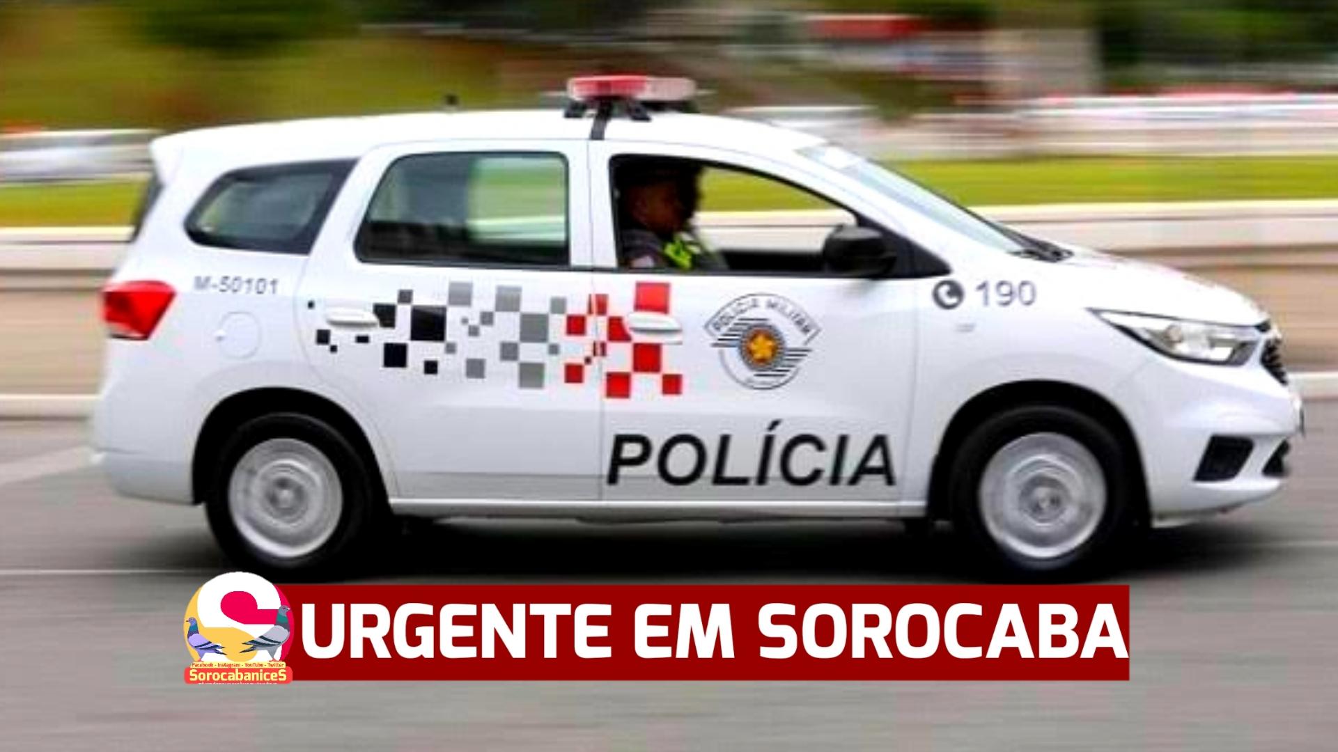 Bandido com carro roubado morre em troca de tiros com a polícia em Sorocaba
