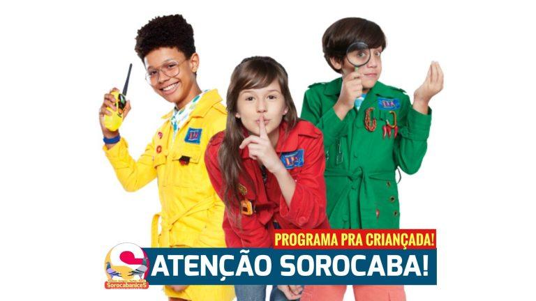 """Teatro da série """"Detetives do Prédio Azul"""" será apresentado em Sorocaba"""