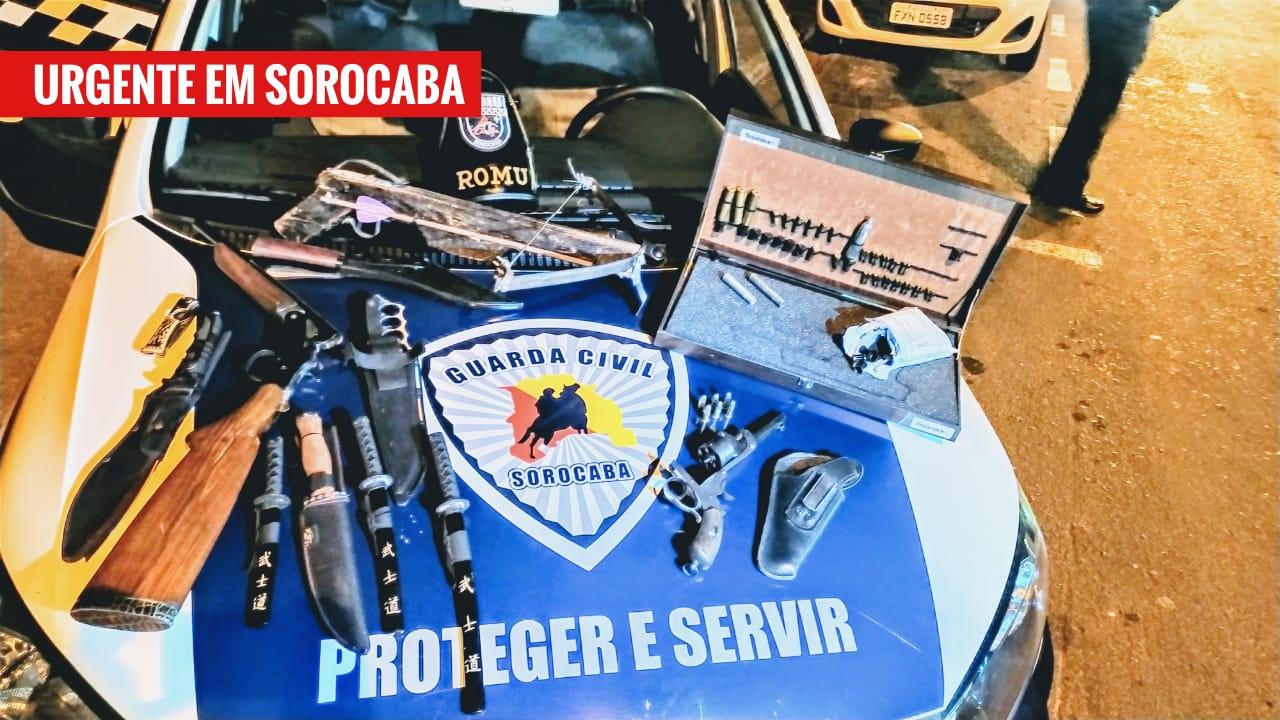 Família inteira é detida com armas no Carandá, zona norte de Sorocaba