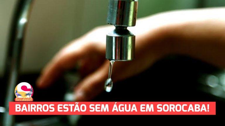 Moradores das zonas norte e oeste de Sorocaba sofrem com calor e falta de água