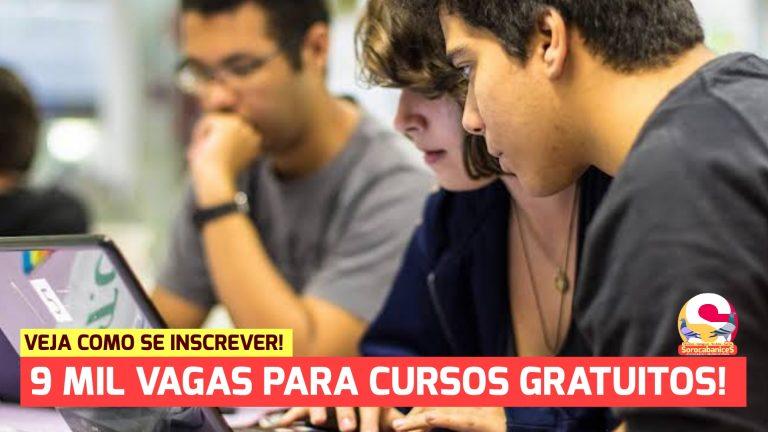 Governo de SP abre 9 mil vagas gratuitas para cursos de qualificação profissional