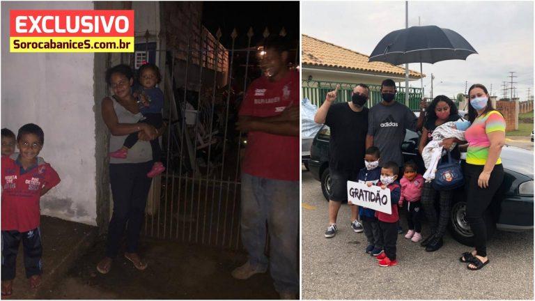 Amigos se unem e compram carro para catator de reciclagem em Sorocaba